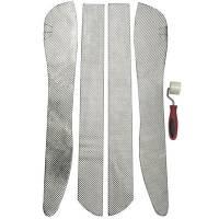 Heat Management - Floor Heat Barriers - Design Engineering - Design Engineering Corvette Transmission Tunnel Side Shields C5