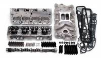 Engine Kits and Rotating Assemblies - Engine Top End Kits - Edelbrock - Edelbrock SB Chevy Power Pkg. Top End Kit
