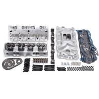 Engine Kits and Rotating Assemblies - Engine Top End Kits - Edelbrock - Edelbrock E-Street Power Top End Package - SB Chevy 57-86