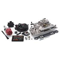 Fuel Injection Systems and Components - Electronic - Fuel Injection Systems - Edelbrock - Edelbrock Pro-Flo 4 EFI Kit SB Chevy 625 HP