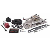 Fuel Injection Systems and Components - Electronic - Fuel Injection Systems - Edelbrock - Edelbrock Pro-Flo 4 EFI Kit BB Chevy w/Oval Ports 625 HP