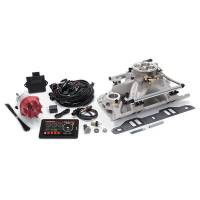 Fuel Injection Systems and Components - Electronic - Fuel Injection Systems - Edelbrock - Edelbrock Pro-Flo 4 EFI Kit SB Mopar 318-360 625 HP
