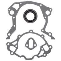 Engine Gaskets and Seals - Timing Cover Gaskets - Edelbrock - Edelbrock Timing Cover Gasket / Seal Kit- SB Ford 289-351W