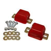 Chassis & Suspension - Suspension Bump Stops - Energy Suspension - Energy Suspension Front Axle Bump Stop Set Red