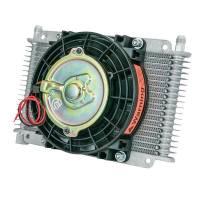 """Engine Components - Flex-A-Lite - Flex-A-Lite Transmission Oil Cooler 17 Row -06 AN 6.5"""" Fan"""