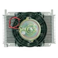 """Engine Components - Flex-A-Lite - Flex-A-Lite Transmission Oil Cooler 17 Row 3/8Barb 6.5"""" Fan"""