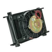 """Engine Components - Flex-A-Lite - Flex-A-Lite Engine Oil Cooler 21 Row 7/8-14 6.5"""" Fan"""