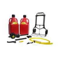Tools & Pit Equipment - Flo-Fast - Flo-Fast 15 Gallon Flo-Fast System Red
