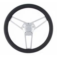 Grant Products - Grant Billet Series Leather Steering Wheel Ford Logo
