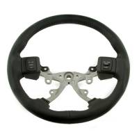 Steering Components - Grant Products - Grant Dodge Airbag Wheel-Black Leather-Wrapped