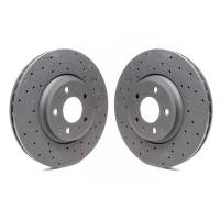 Brake System - Hawk Performance - Hawk Brake Rotor Front Audi 08-11