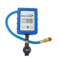Tools & Pit Equipment - Intercomp - Intercomp Digital Air Pressure Fill Gauge w/Ball Chuck 150PS