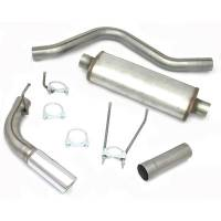 Exhaust System - JBA Performance Exhaust - JBA Cat-Back Exhaust Kit 06-17 Dodge Ram 1500