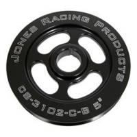 "Crankshaft Pulleys - V-Belt Crankshaft Pulleys - Jones Racing Products - Jones Racing Products Pulley Crankshaft V-Belt 5"" 1"" ID"