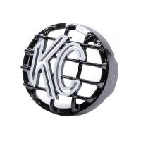 "KC HiLiTES - KC HiLiTES 4"" Black Rally Stone Guard"