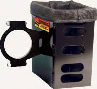 "Radio System Parts & Accessories - Radio Boxes & Holders - Longacre Racing Products - Longacre Radio Box Compact 1.75"" Black"