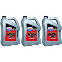 Lucas Oil Products - Lucas 20w50 Semi Synthetic Racing Oil 3 x 5 Quart