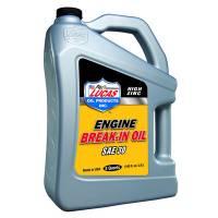 Lucas Racing Oil - Lucas High Zinc Engine Break-In Oil - Lucas Oil Products - Lucas SAE 30 Break-In Oil 5 Quart Bottle