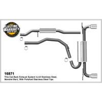 Exhaust System - Magnaflow Performance Exhaust - Magnaflow 07-14 Ford Edge 2.0/3.5L Cat Back Exhaust Kit