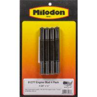 Hardware and Fasteners - Milodon - Milodon Stud - 4 5/8 x 1/2 (4 Pack)