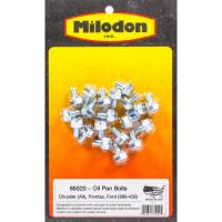 Hardware and Fasteners - Milodon - Milodon Oil Pan Bolt Kit BB Mopar