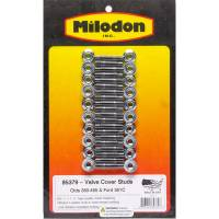 Hardware and Fasteners - Milodon - Milodon Valve Cover Stud Kit - Oldsmobile V8 & Ford 351C