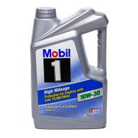 Mobil 1 - Mobil 1 10w30 High Mileage Oil 5 Quart Bottle