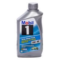 Mobil 1 Motor Oil - Mobil 1™ Turbo Diesel Truck Motor Oil - Mobil 1 - Mobil 1 5w40 Turbo Diesel Oil 1 Quart