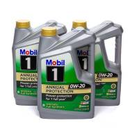 Mobil 1 - Mobil 1 0w20 Synthetic Oil Case 3x5 Quart Annual Protection - Image 1