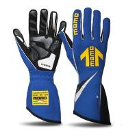 Safety Equipment - Momo - Momo Corsa R Racing Gloves - Blue - Large