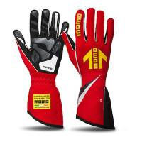 Safety Equipment - Momo - Momo Corsa R Racing Gloves - Red - Large