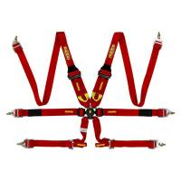 Momo - Momo 6 Point Harness System Cam Lock Red