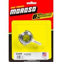 Radiator Filler Necks - Filler Necks - Weld-On - Moroso Performance Products - Moroso Billet Filler Neck - Small Design