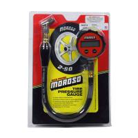 Wheel and Tire Tools - NEW - Tire Pressure Gauges - NEW - Moroso Performance Products - Moroso Tire Gauge 0-15 Digital Backlit