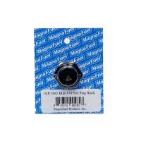 MagnaFuel - MagnaFuel #10 Straight Port Plug Black