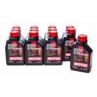 Oil, Fluids & Chemicals - Motul - Motul 6100 5w30 Syn-Nergy Oil Case 12 x 1 Liter
