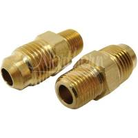 "Radiator Accessories and Components - Radiator Fittings - Northern Radiator - Northern Radiator Transmission Line Adapter 1/8"" -27  NPT X 5/16"" 2 Pack"