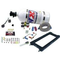 Nitrous Oxide Systems and Components - Nitrous Oxide Systems - Nitrous Express - Nitrous Express NX EFI Hi-Ram Plate System w/10 lb. Bottle