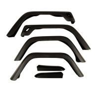 Body & Exterior - Omix-ADA - Omix-ADA 7 Inch Fender Flare Kit Including Hardware - 97-06 Jeep Wrangler TJ