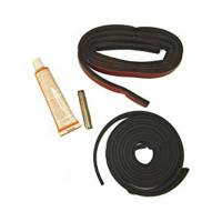 Weatherstripping and Rubber Details - Weatherstripping - Omix-ADA - Omix-ADA Hardtop Seal Kit with Sealant - 76-06 Jeep CJ/ Wrangler YJ