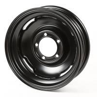 Wheels and Tire Accessories - Omix-ADA - Omix-ADA Steel Wheel 16 inch 5x 5.5 Black - 46-71 Willys MB