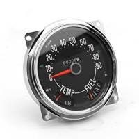 Gauges and Data Acquisition - Omix-ADA - Omix-ADA Speedometer Cluster Assembly 0-90 MPH - 55-75 Jeep CJ