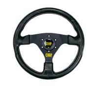 Steering Components - OMP Racing - OMP Racing GP Steering Wheel 3 Spoke 330mm Black