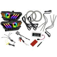 Oracle Lighting Technologies - Oracle Lighting Technologies 15-17 Mustang LED DRL & Halo Light Kit