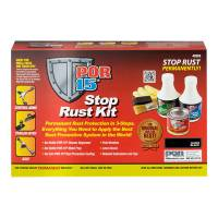 Cleaners and Degreasers - Rust Removers and Prevention - POR-15 - POR-15 Stop Rust Kit Black