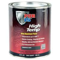 Paint & Finishing - POR-15 - POR-15 High Temperature Factory Gray Paint Quart
