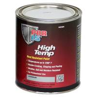 Paint & Finishing - POR-15 - POR-15 High Temperature Aluminum m Paint Quart