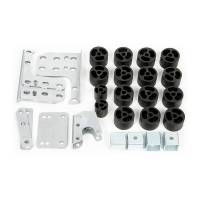 "Chassis Components - Performance Accessories - Performance Accessories 17- Dodge Ram 1500 4WD 2"" Body Lift Kit"