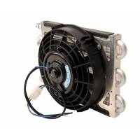 Drivetrain Components - Perma-Cool - Perma-Cool Maxi-Cool Jr Coil/Electric Fan Assembly -06 AN 12 1/2in