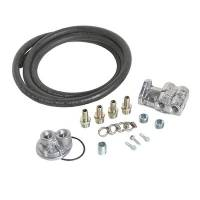 Engine Components - Perma-Cool - Perma-Cool Deluxe Filter Relocation Kit (Single) 1in-16